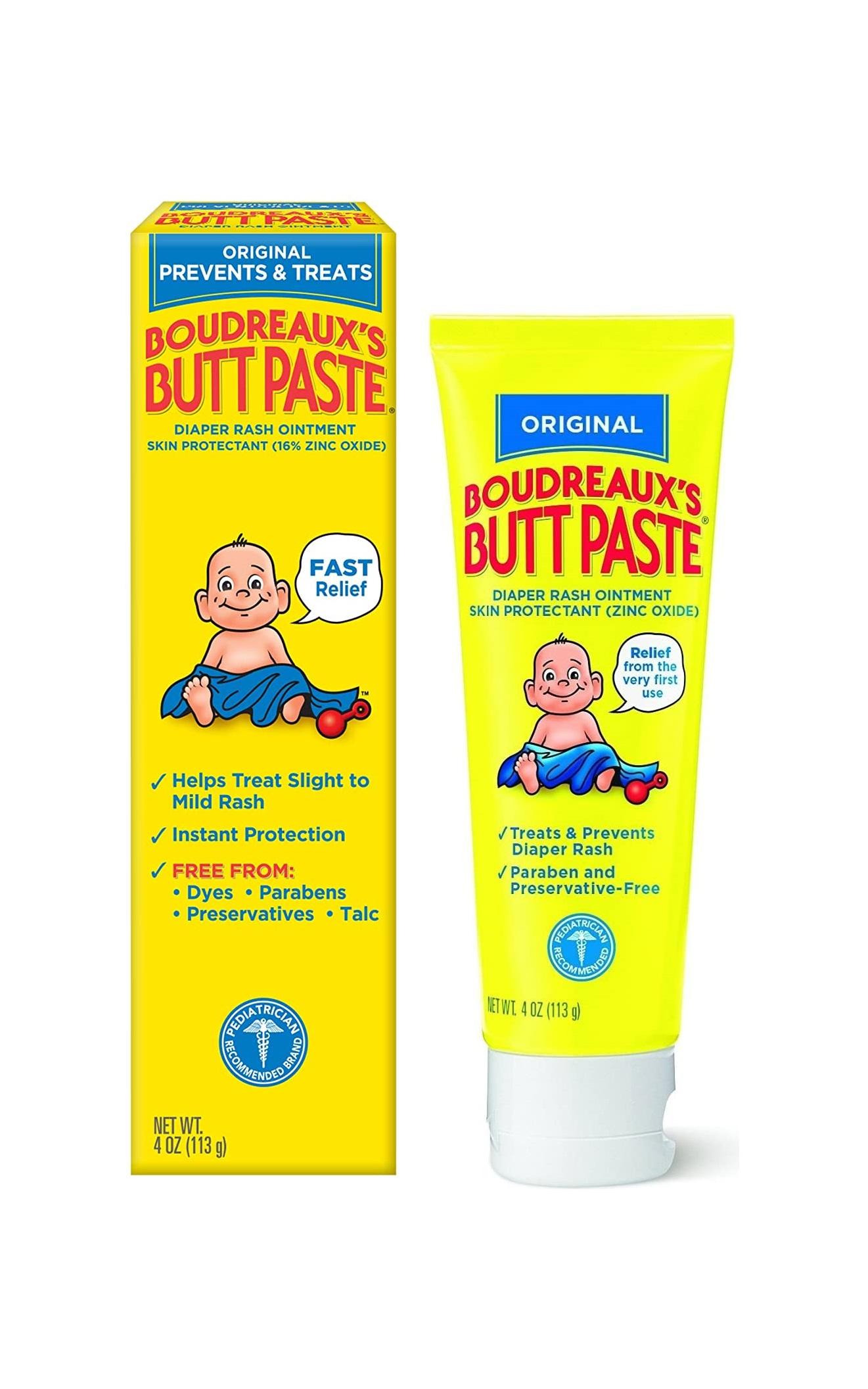 Original Boudreaux's Butt Paste nappy Rash Ointment