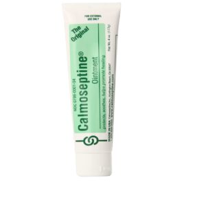 Calmoseptine Ointment effective multi-purpose moisture barrier ointment, nappy rash, bedsore, burns