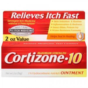 Cortizone-10 Maximum Strength anti-itch Ointment