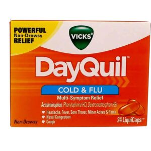 Vicks DayQuil Cold & Flu LiquiCaps uk