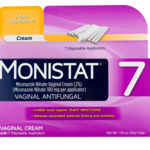 Monistat 7-Day Yeast Infection Treatment, Cream with 7 Applicators UK