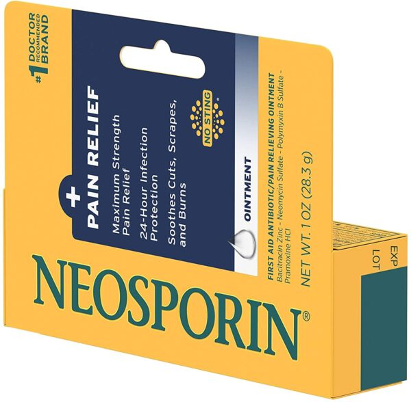 Neosporin + Maximum-Strength Pain Relief Dual Action Ointment