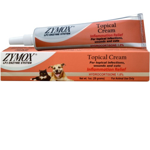zymox topical cream for dogs and cats