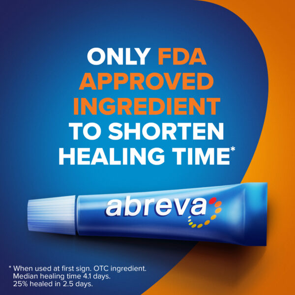 Abreva Cold Sore and Fever Blister Treatment Cream uk