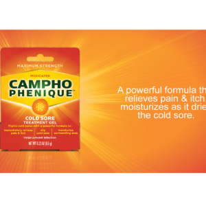 Campho-Phenique Cold Sore Treatment with drying action