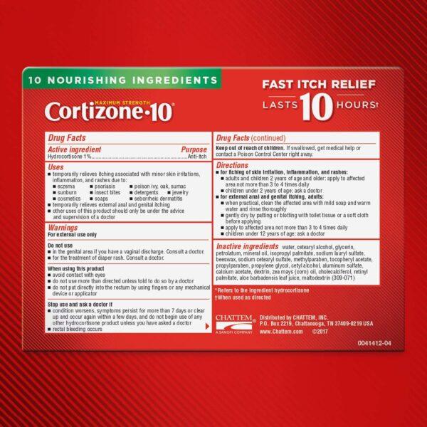 Cortizone 10 Plus Ultra Moisturizing Anti-Itch Cream