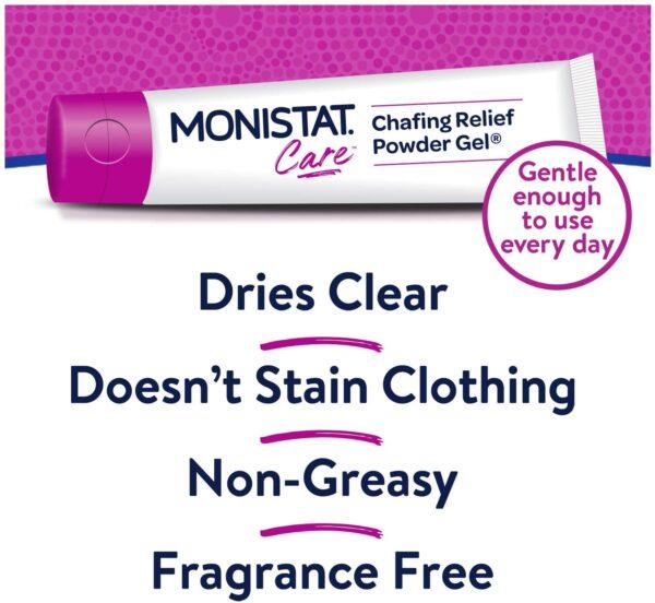 Monistat Care Anti Chafing Powder Gel