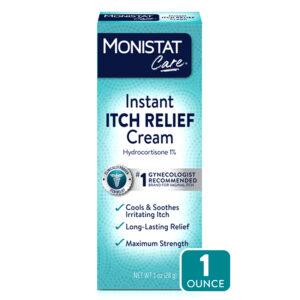 Monistat Care Max Strength vagina Instant Itch Relief Cream