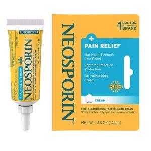 Neosporin + Maximum-Strength Pain Relief Dual Action cream