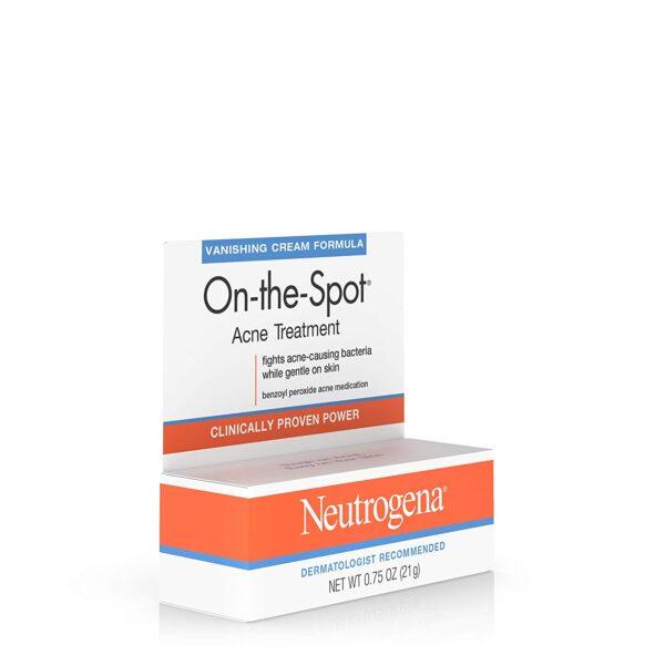 Neutrogena On-the-Spot Acne Treatment, 2.5% Benzoyl Peroxide