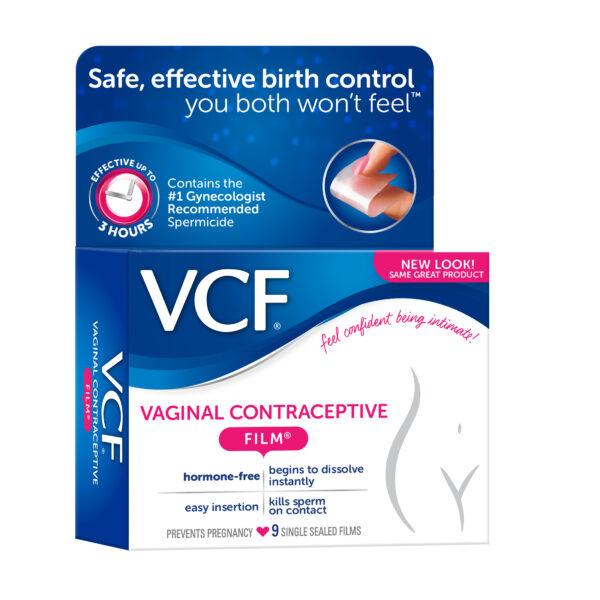 VCF Vagina contraceptive film