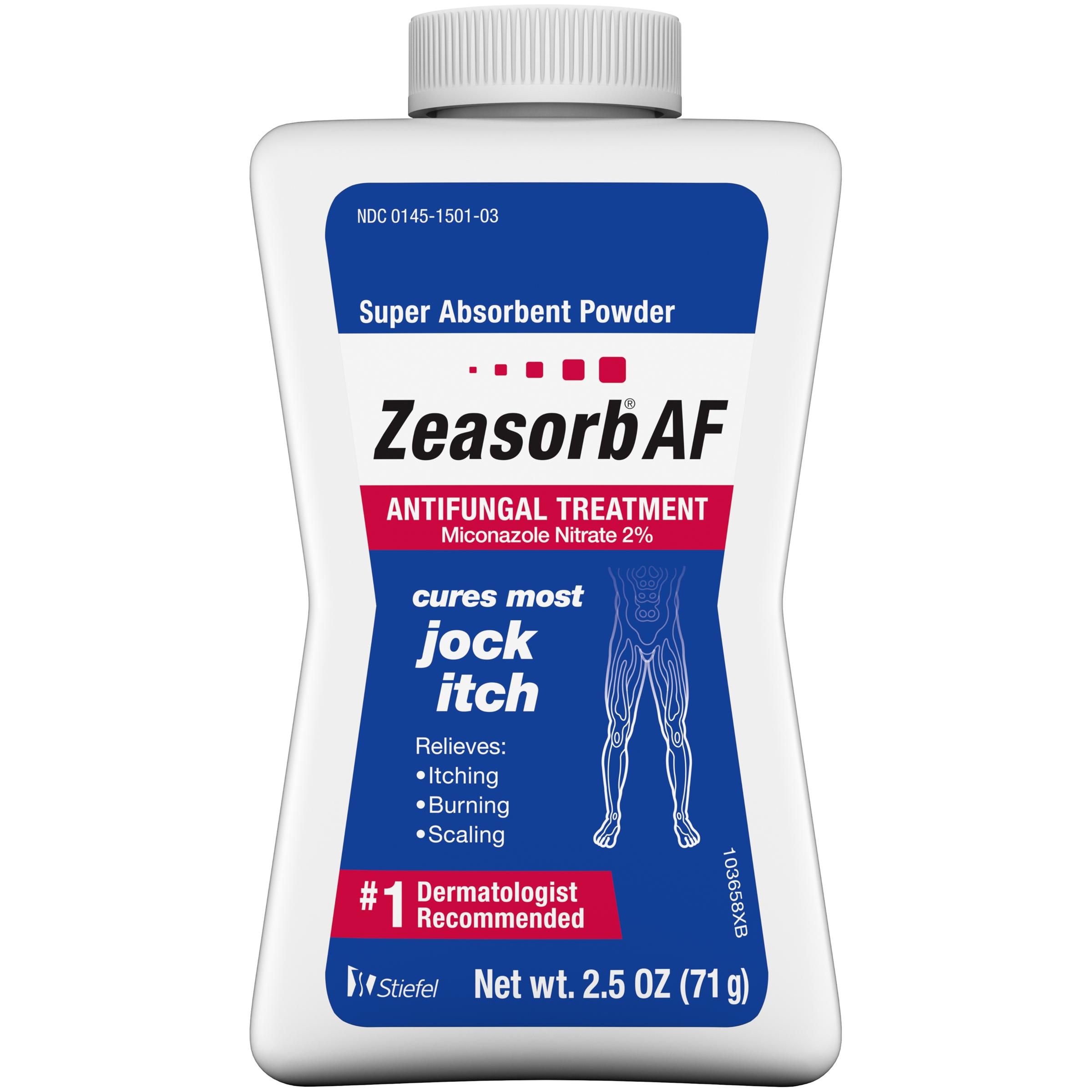 """Zeasorb-AF Super Absorbent Antifungal Treatment Powder for Jock Itch """"UK"""""""