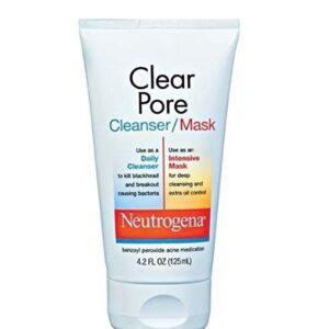 Neutrogena clear pore face cleanser/mask uk