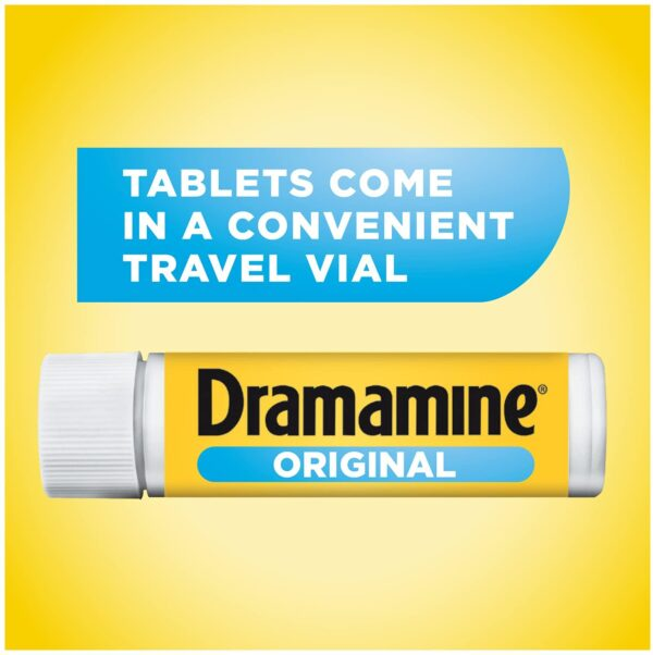 "Dramamine Original Motion Sickness tablets ""UK"""