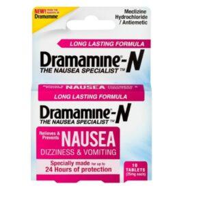 Dramamine-N Long Lasting Formula Nausea Relief