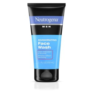 Neutrogena Men Daily Invigorating Foaming Gel Face Wash
