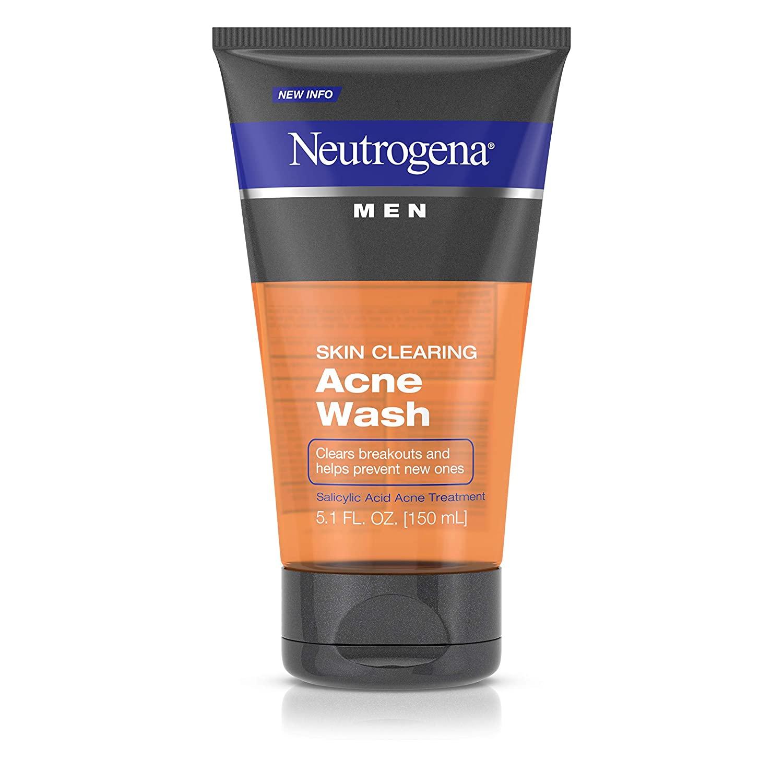 Neutrogena men daily face wash for acne treatment uk